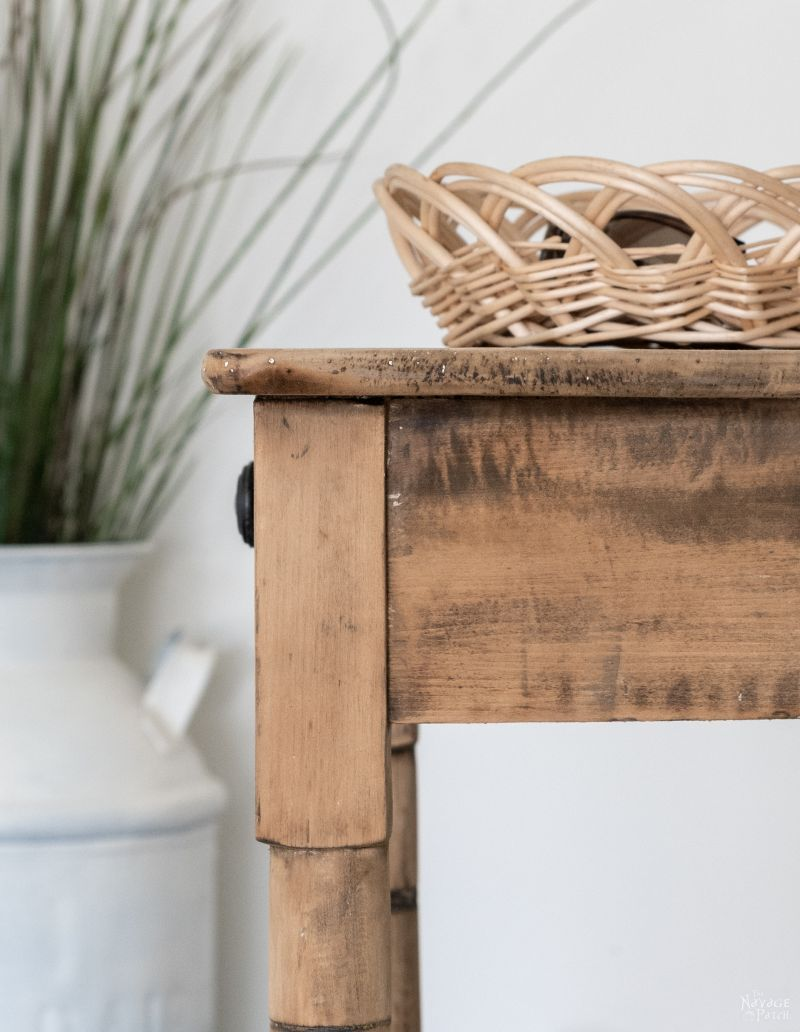 Raw Wood Table Reclamation - TheNavagePatch.com