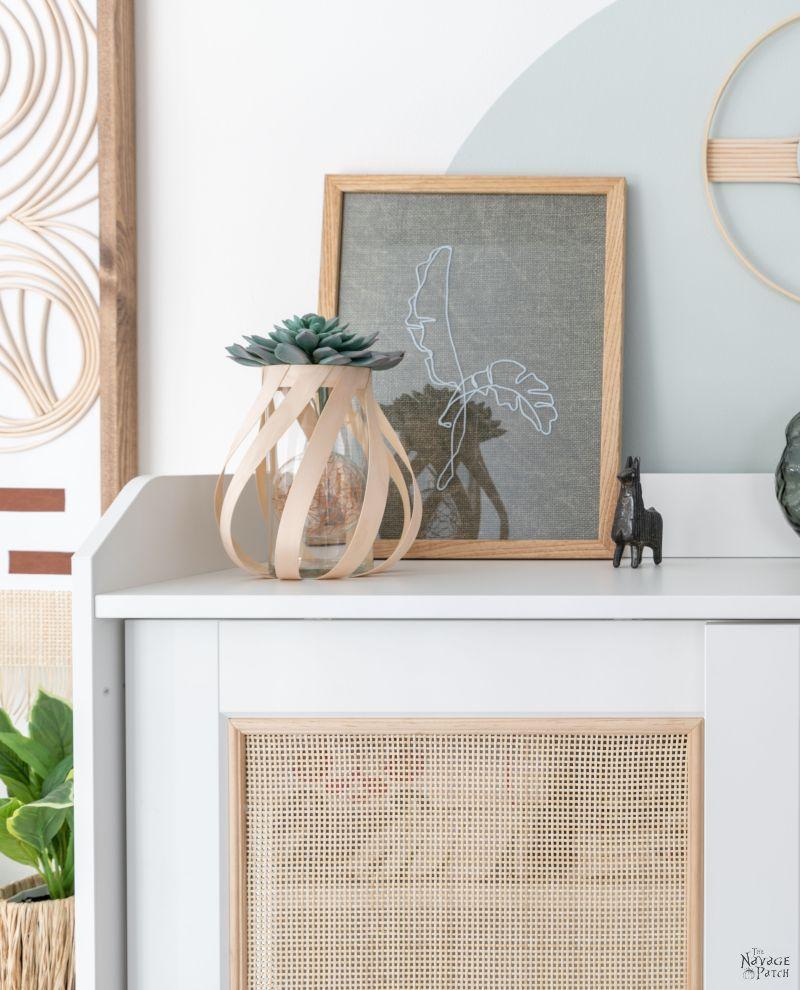 DIY Cane Cabinet (IKEA Hack) - TheNavagePatch.com