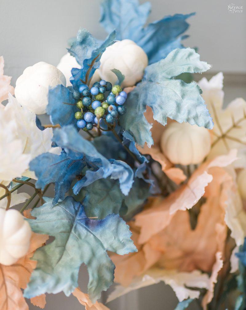 DIY Dollar Tree Fall Wreath - TheNavagePatch.com