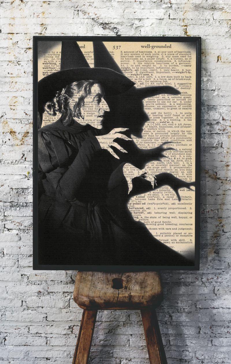 Free Vintage Movie Monster Printables - TheNavagePatch.com