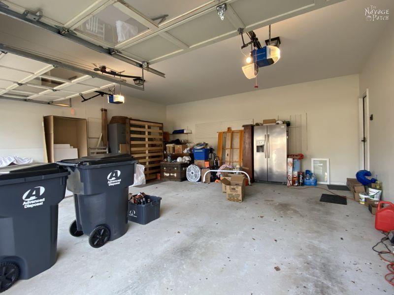 Garage Makeover Reveal - TheNavagePatch.com