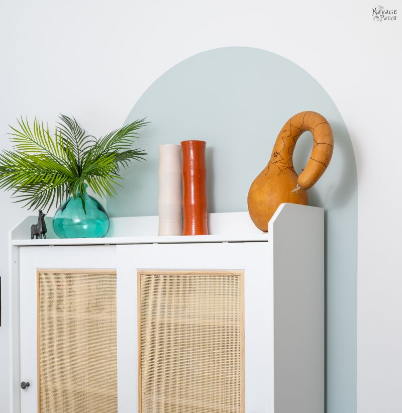 Painted Arch Accent Wall - TheNavagePatch.com
