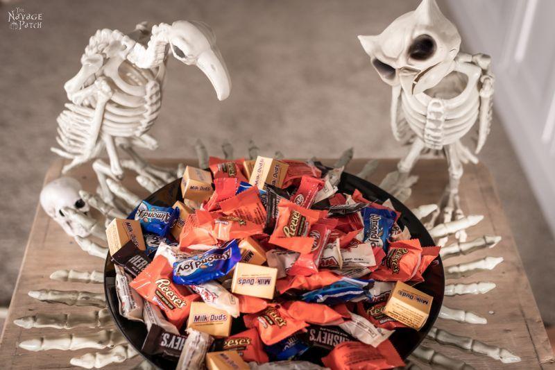 DIY Dollar Store Halloween Candy Bowl - TheNavagePatch.com