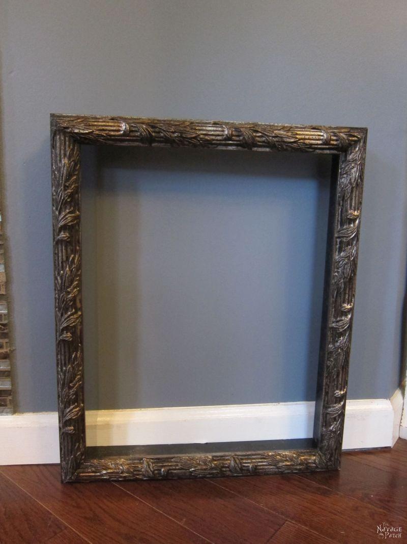 old ornate frame