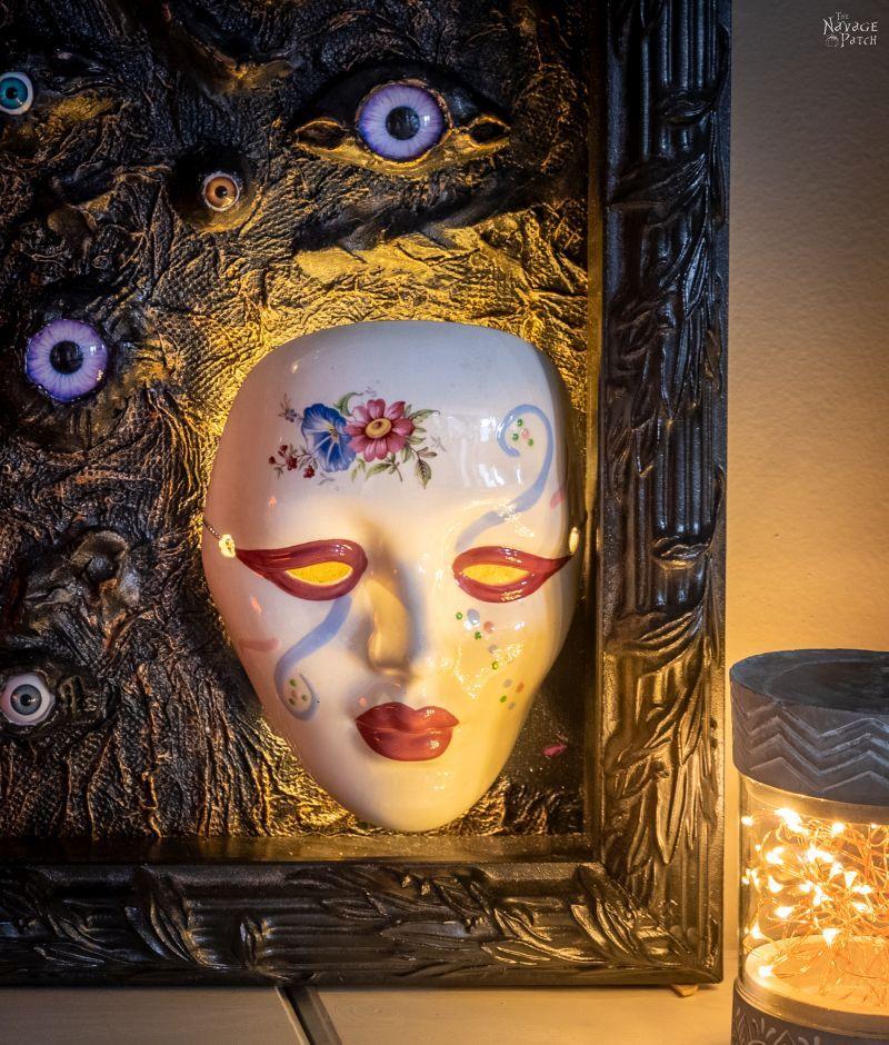 DIY Spooky All-Seeing Eyes - TheNavagePatch.com