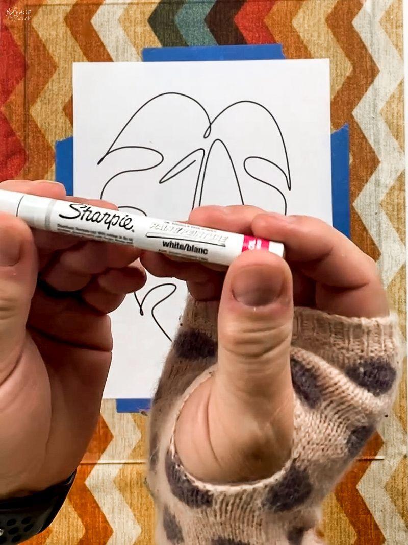 Sharpie paint pen