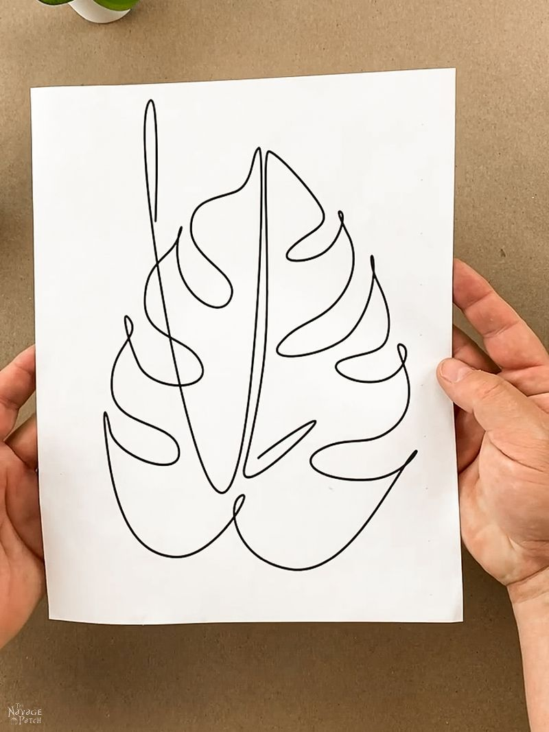 line art template by TheNavagePatch.com