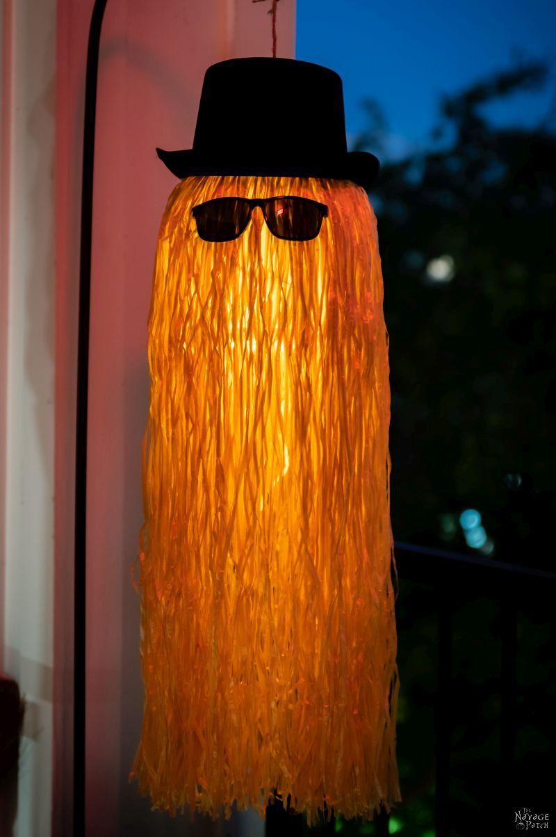 DIY Cousin Itt Pathway Light - TheNavagePatch.com