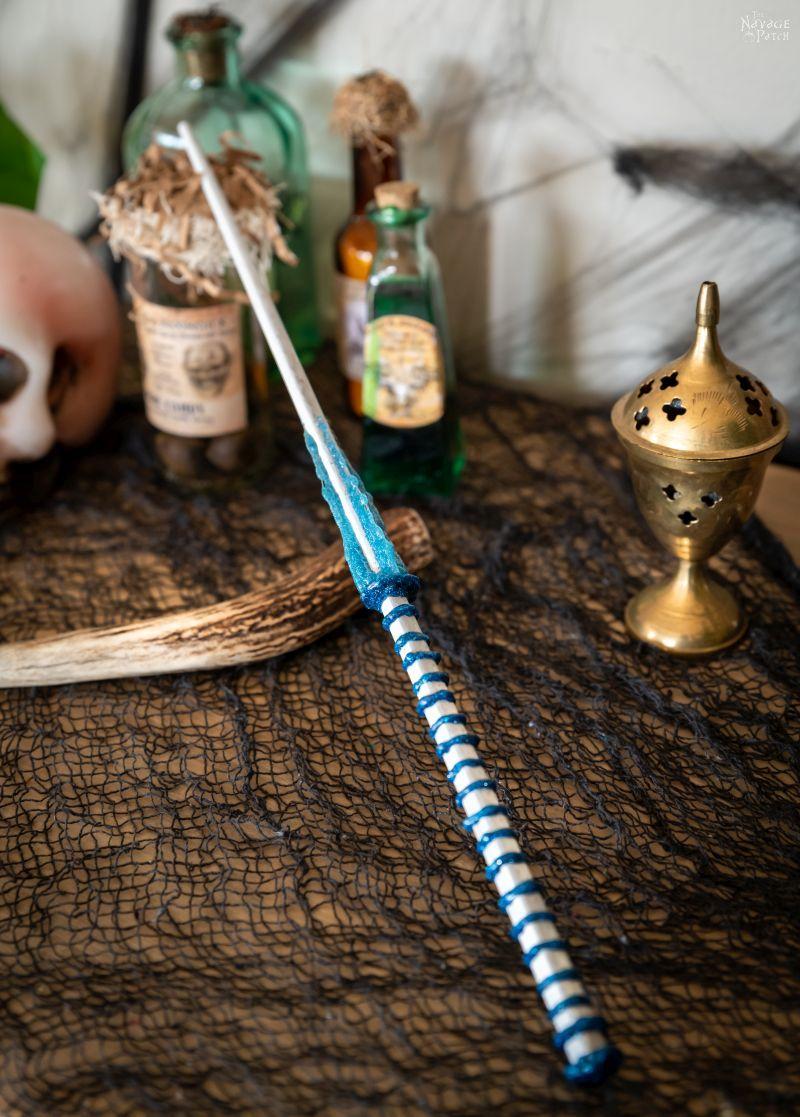 DIY Harry Potter Wands - TheNavagePatch.com